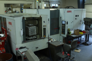 machine shop horizontal machining center