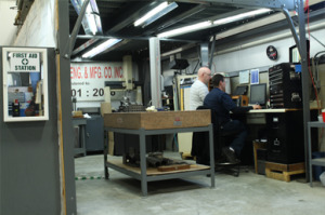 machine shop inspection department